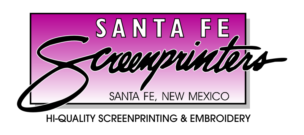 santa fe screenprinters logo